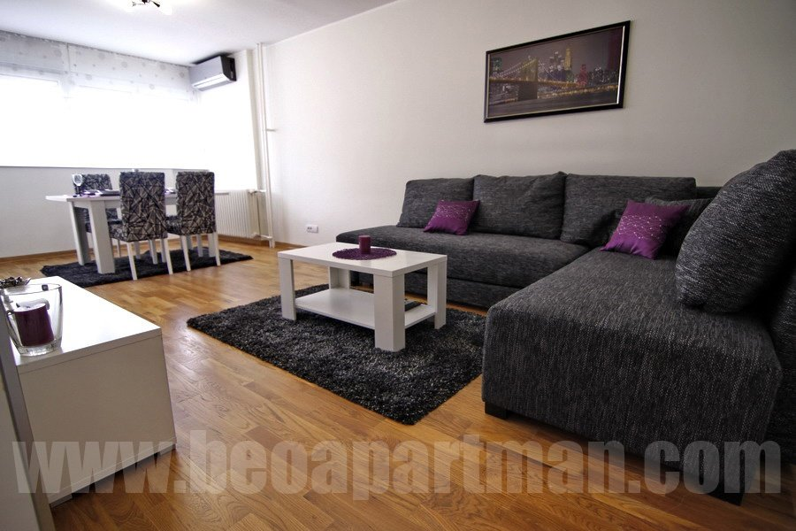 Living Room In  Belgrade Apartments