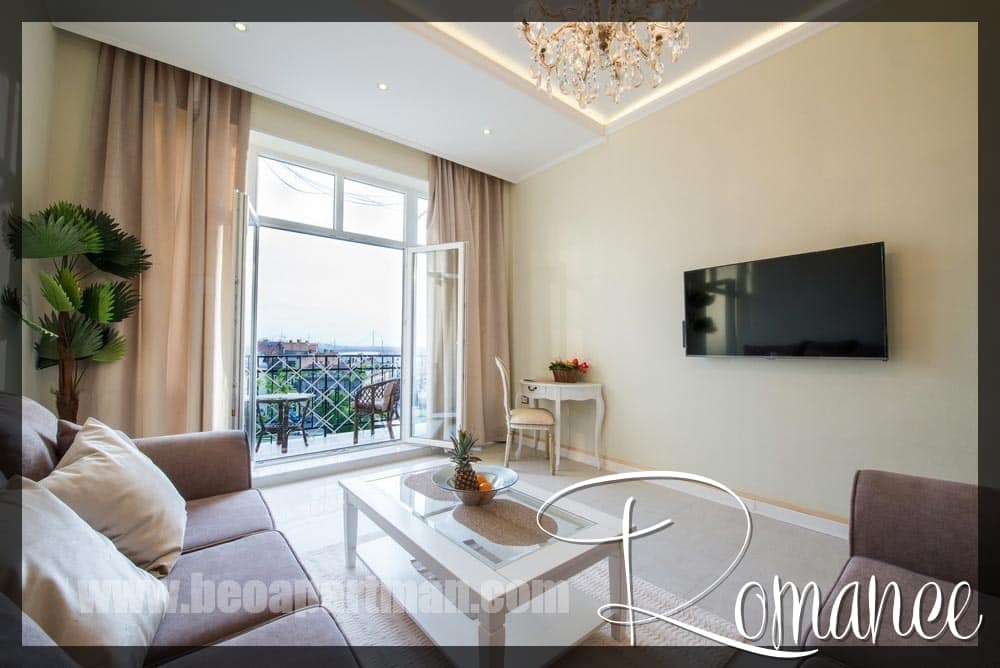 Terrace View Luxury Apartments For Rent In Belgrade Romance