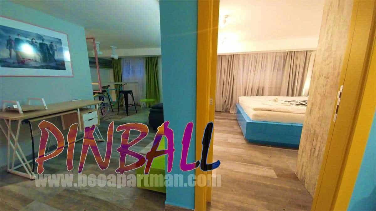 rooms party apartment in Belgrade PINBALL
