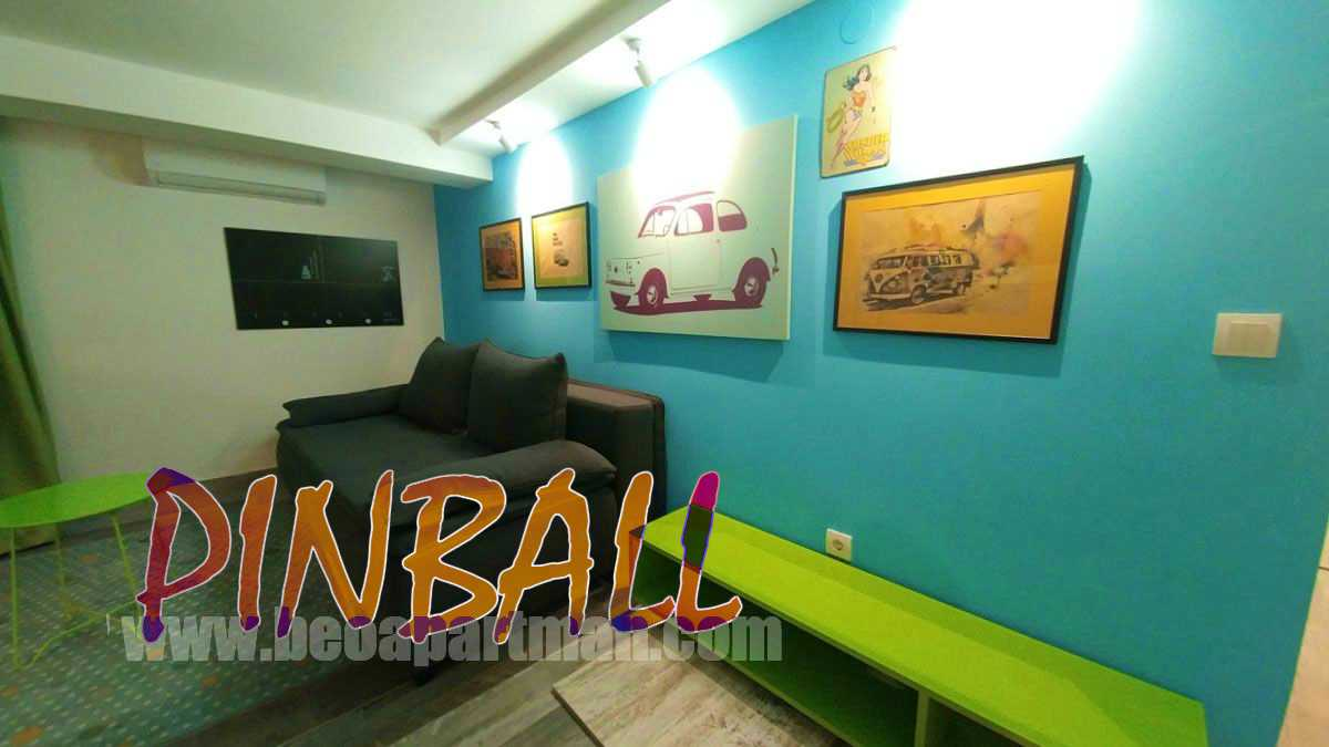 sketches of fiat and volkswagen transport type 2 party apartment in Belgrade PINBALL