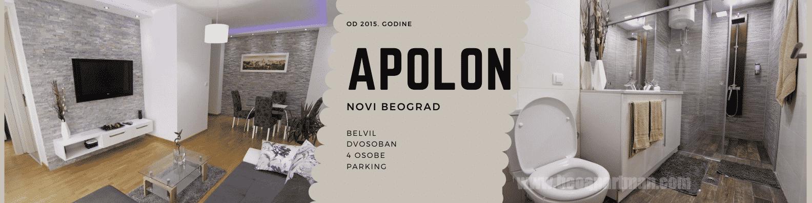 apartman APOLON Belvil Novi Beograd