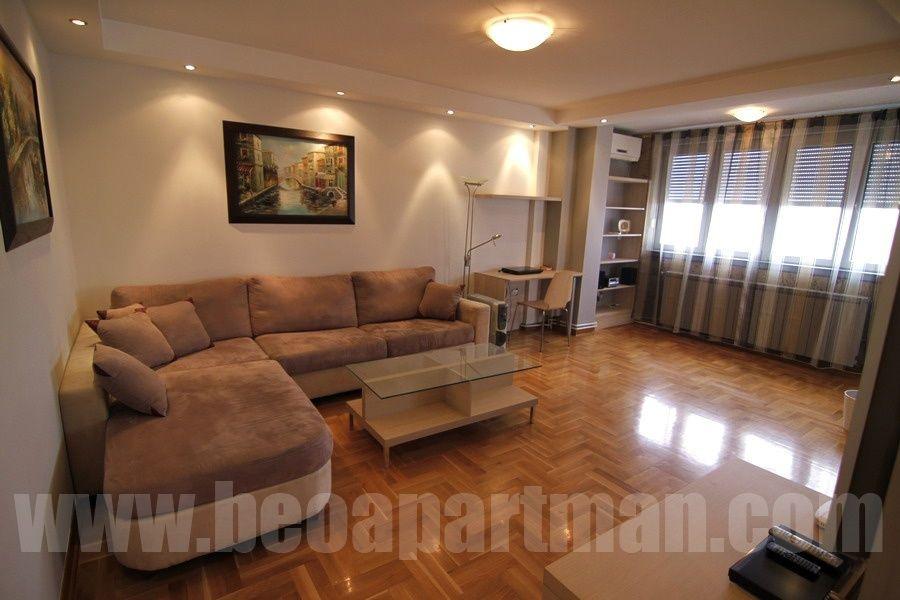 NEBO apartman Beograd, spavaca soba