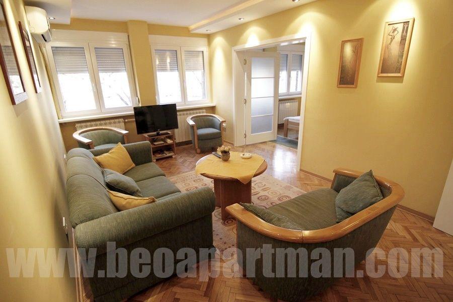 NIKMAR apartman Beograd, dnevna soba