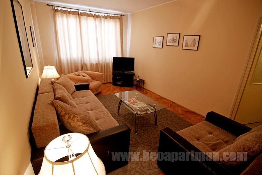 REKS apartman Beograd, dnevna soba