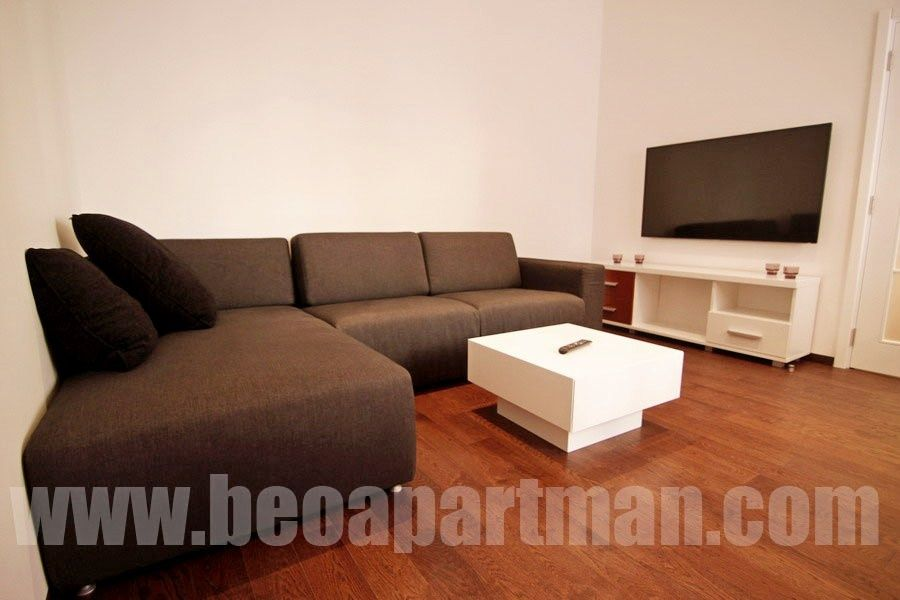 SATURN apartment Belgrade, living room