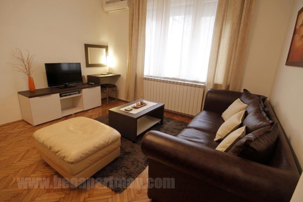 SKVER apartman Beograd, dnevna soba