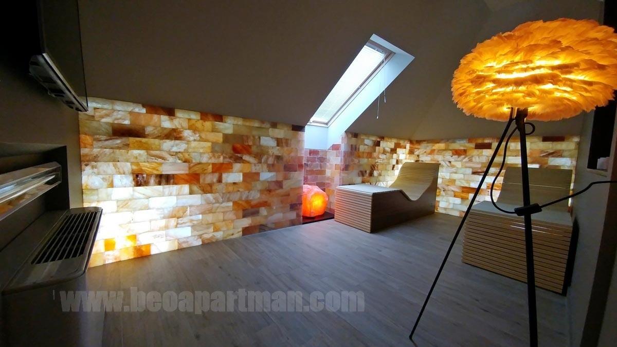 dry salt therapy room MEDUS apartment Belgrade