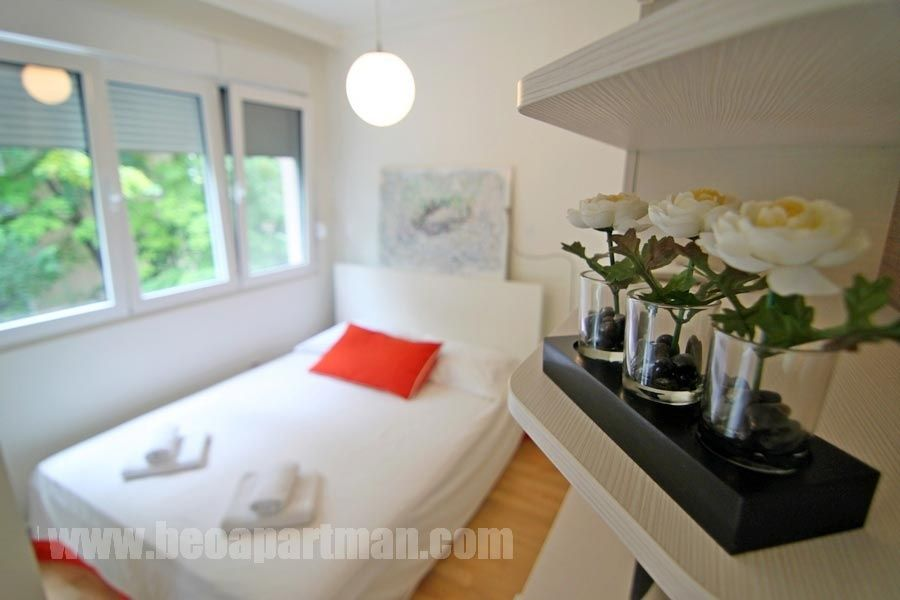 JASTUK apartman Beograd, detalj iz spavaćeg dela