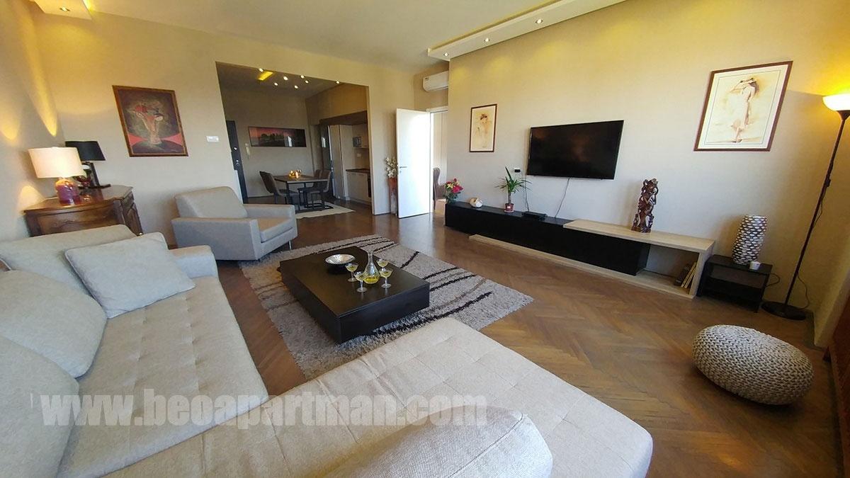 ODEON apartman Beograd, dnevna soba