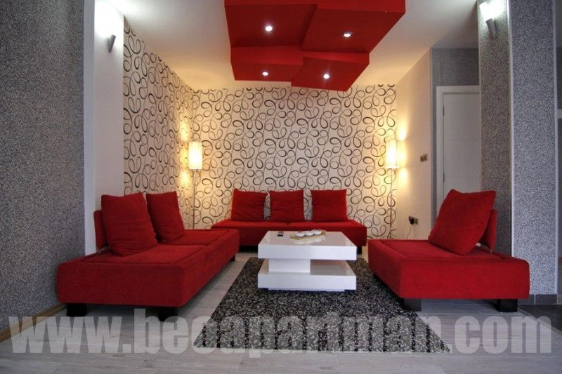 RED apartment New Belgrade, living room