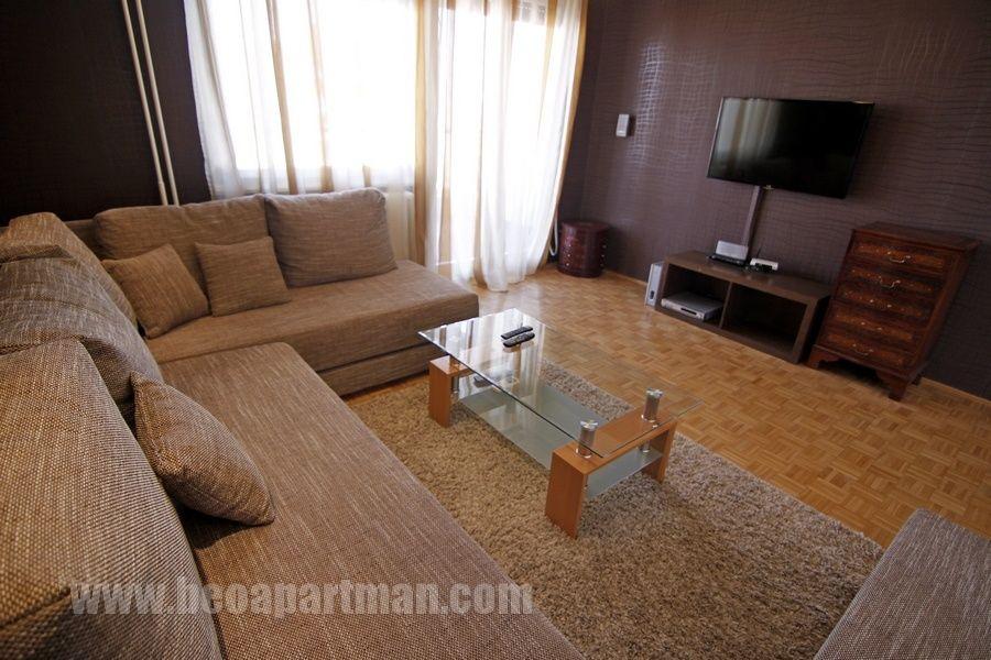DUNAV apartman Beograd, dnevna soba