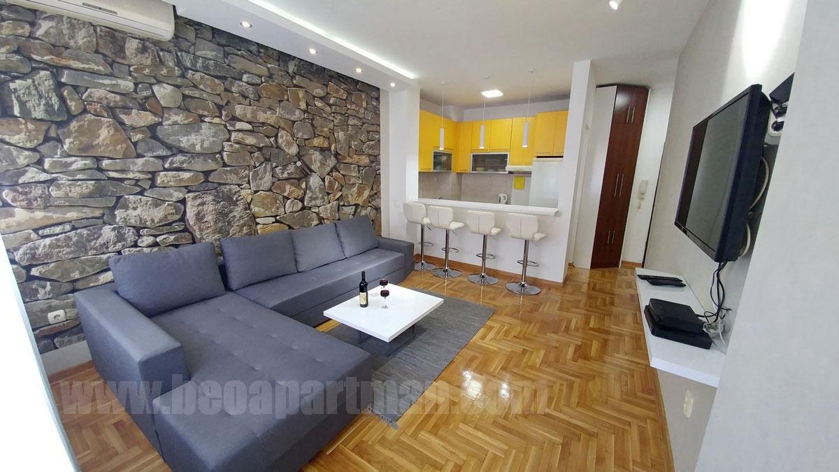 VUK apartman Beograd, dnevna soba