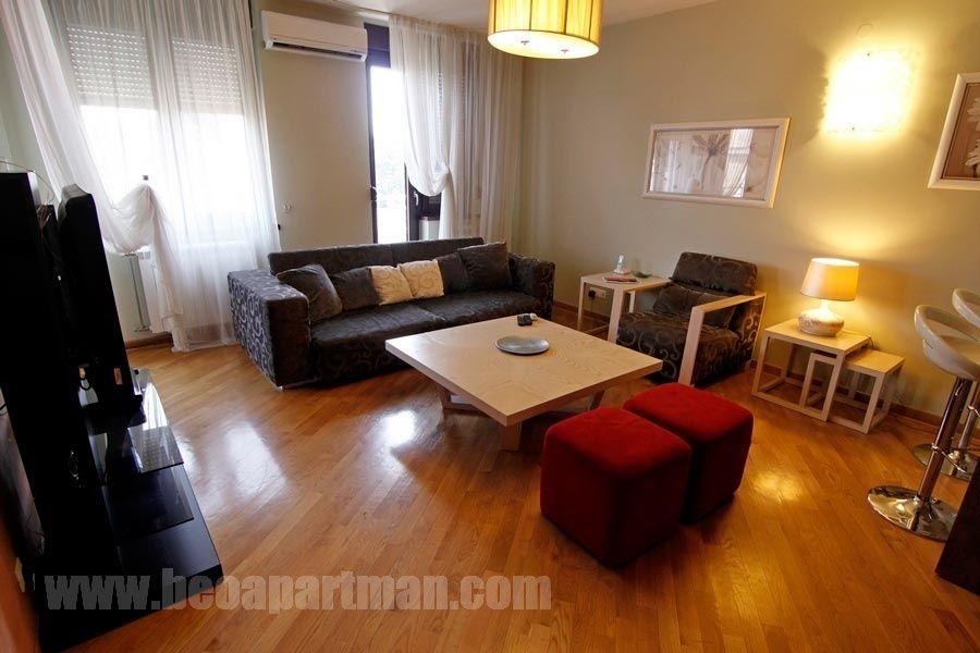 CANVAS apartment New Belgrade, living room