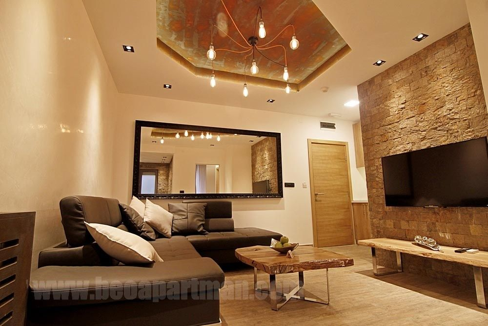 dnevna soba VEGAS apartman sa djakuzijem strogi centar Beograd