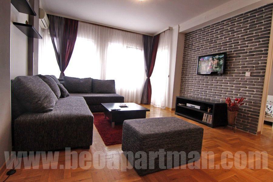 BUDDHA apartment Belgrade, living room