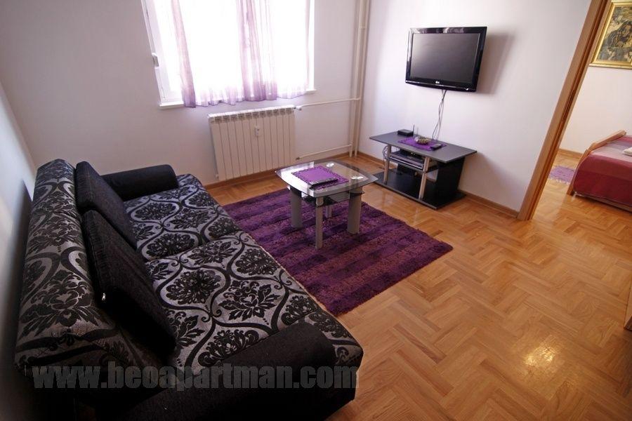 PESMA apartman Beograd, dnevna soba