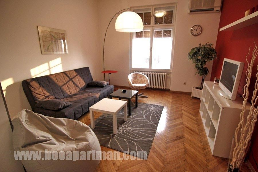 BRIDGE apartment Belgrade, living room