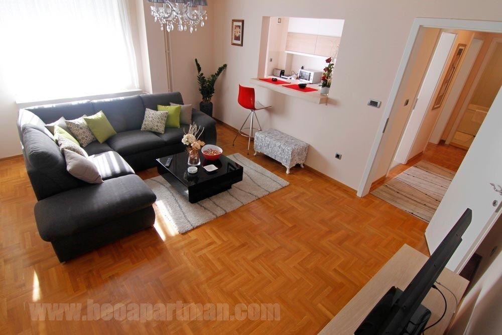 IDEJA apartman Beograd, dnevna soba