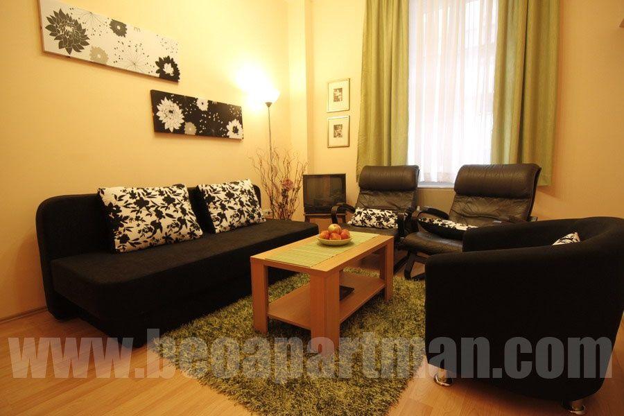 MANJEŽ apartman Beograd, dnevna soba