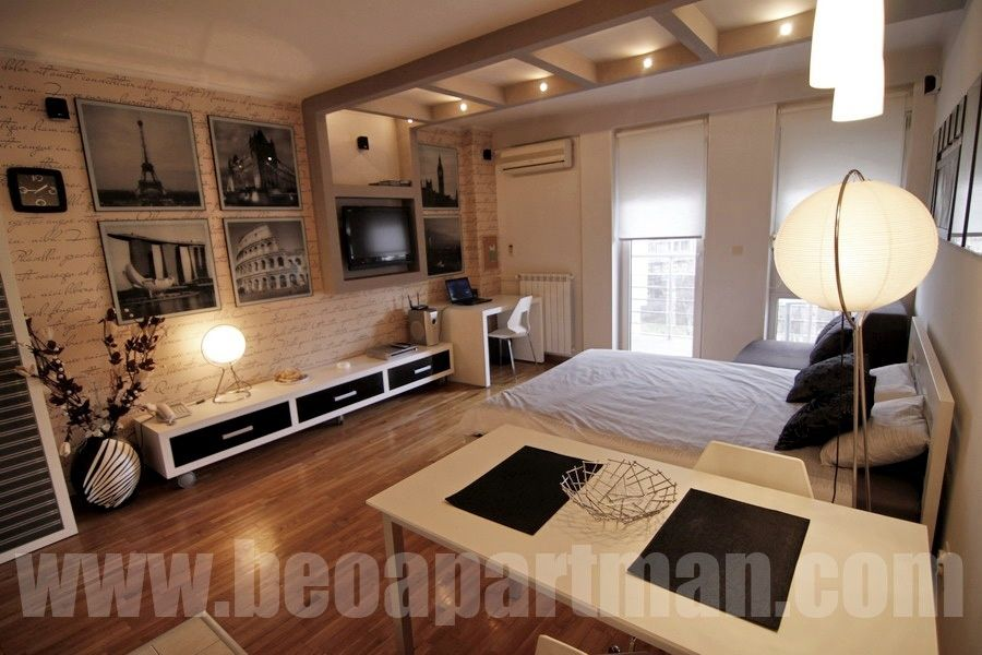 CITY apartment Belgrade, interior design