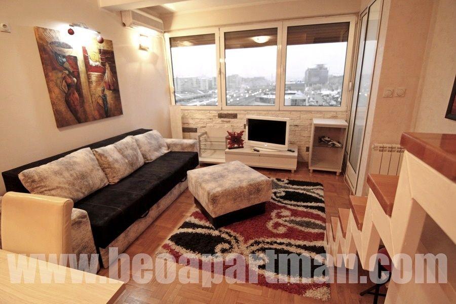 ARENA1 apartman Novi Beograd, dnevna soba