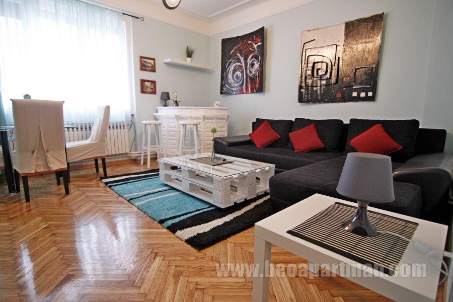 DEPOT apartment Belgrade, living room