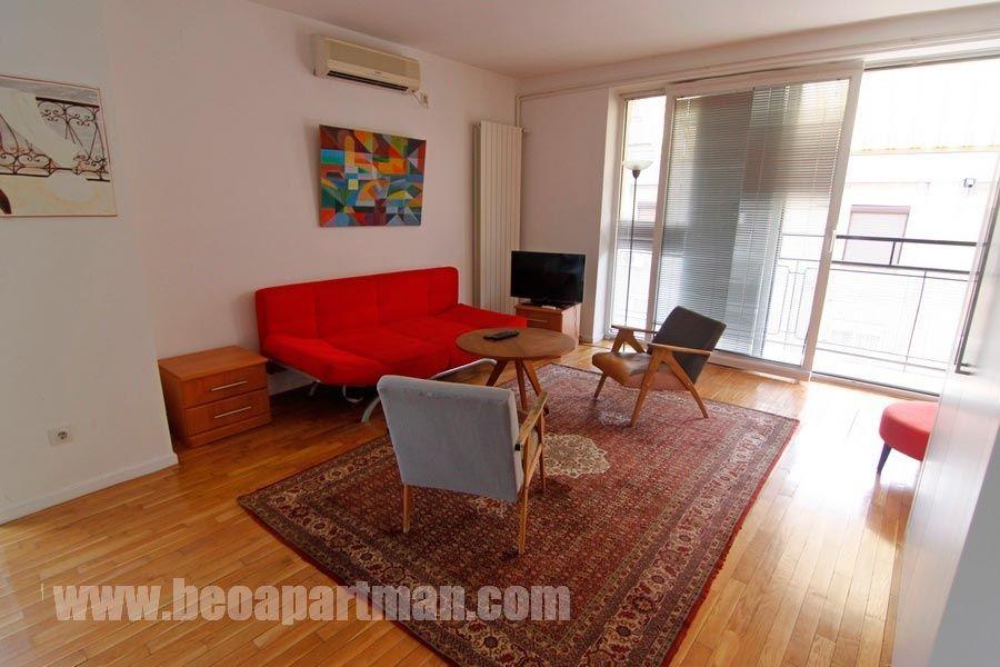 KONAK apartment Belgrade, living room