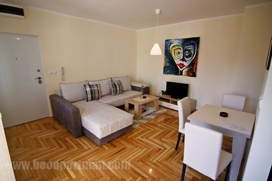 LOLA apartment Belgrade, living room