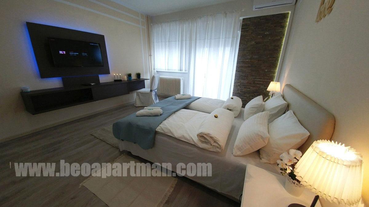 FENIKS apartman Beograd, spavaća soba
