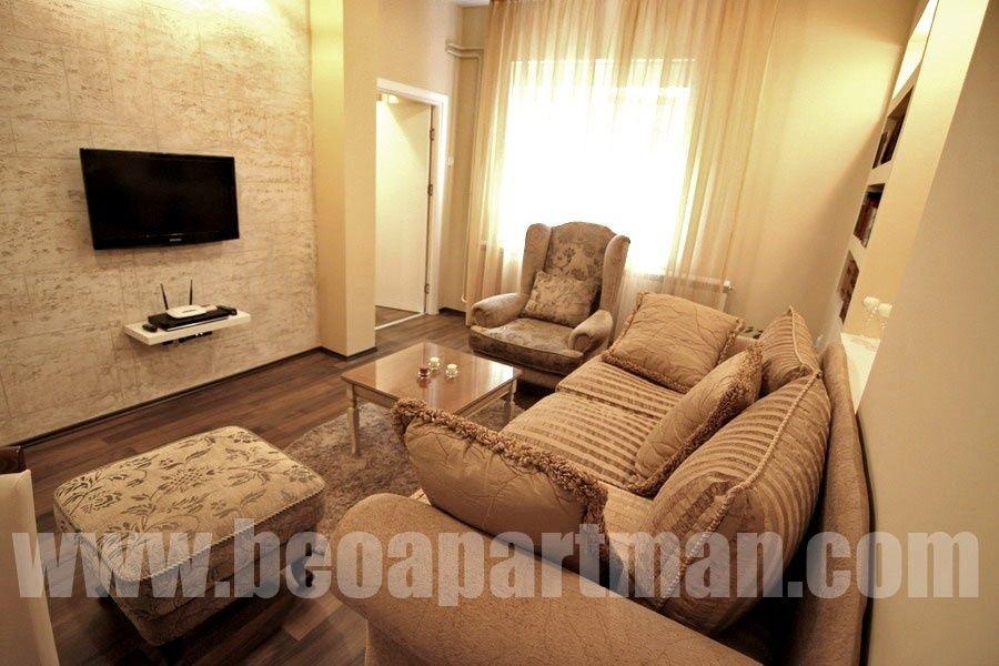 MARINA apartman Beograd, dnevna soba