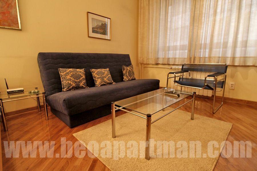 STAR apartment Belgrade, living room