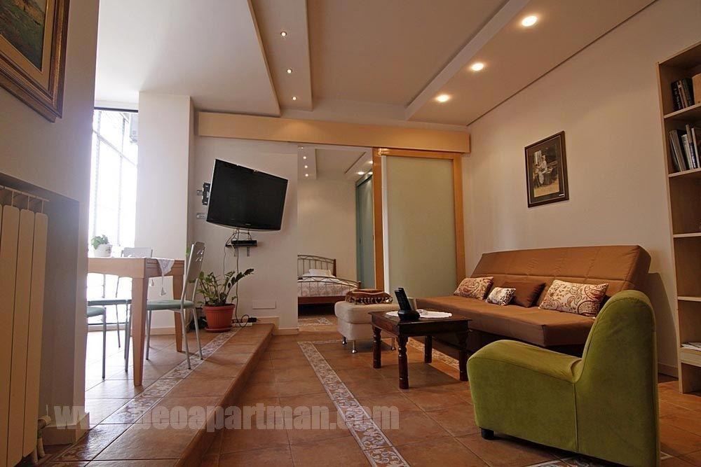 CIRCLE apartment Belgrade, living room