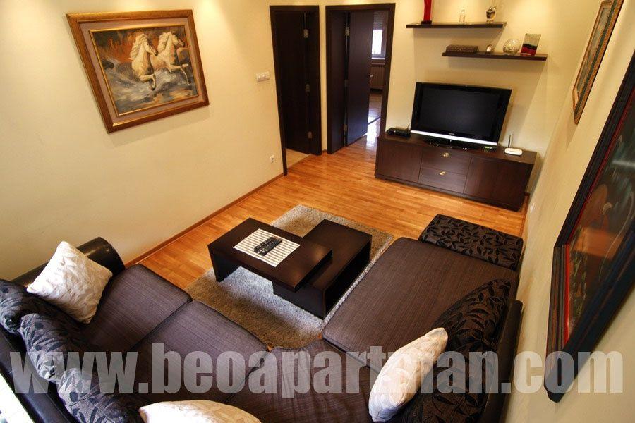 NJUJORK apartman Beograd, dnevna soba