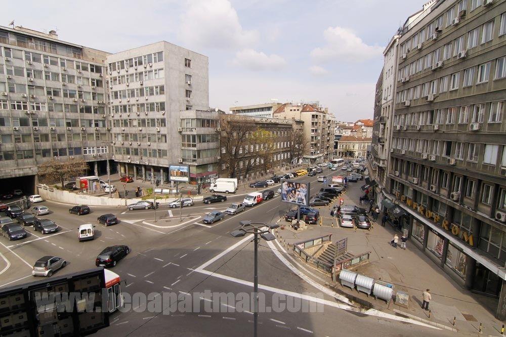 mapa beograda decanska ulica ISTOK apartman Beograd, Dečanska mapa beograda decanska ulica