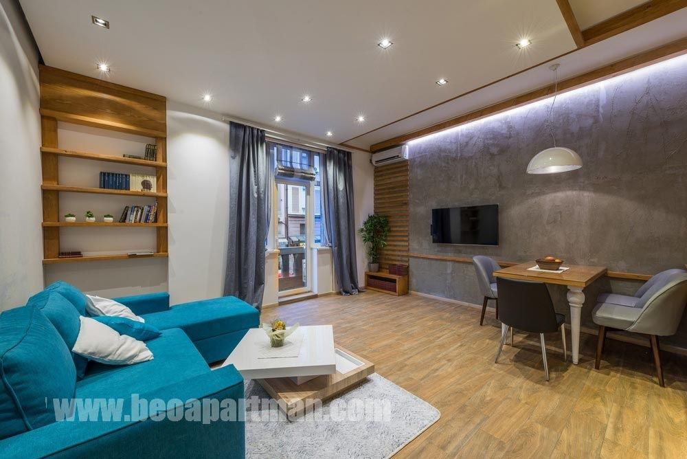 living room FANTASY luxurious apartment Belgrade the very city center