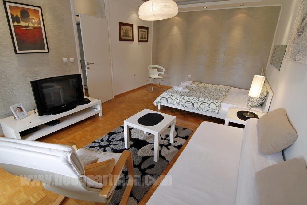 KLARA apartman Beograd, krevet