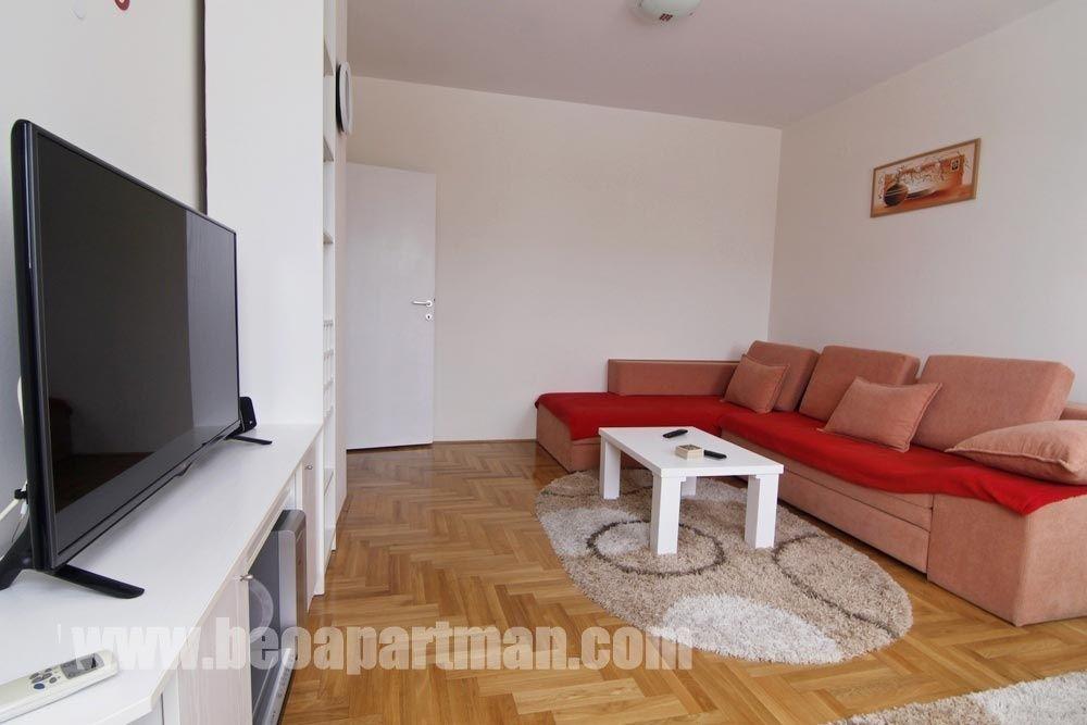 DUPLEKS apartman Beograd, dnevna soba