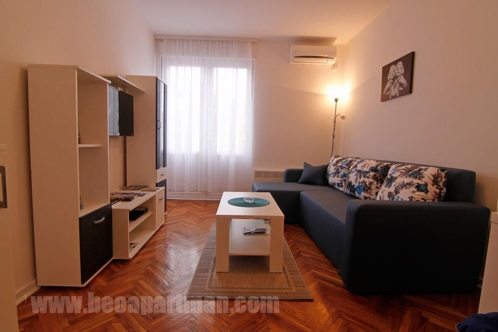 JAVA apartman Beograd, dnevni boravak