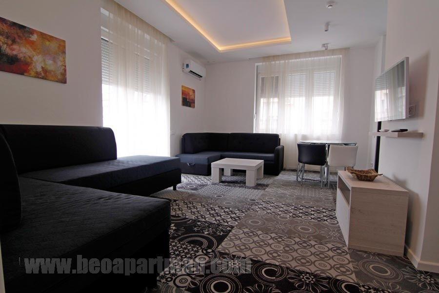 ISTOK apartman Beograd, dnevna soba