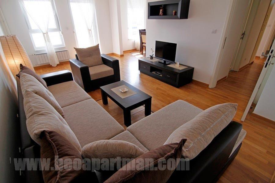 LILAC apartment New Belgrade, Living Room