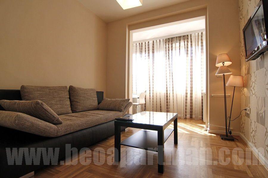 POLITIKA apartment Belgrade, living room
