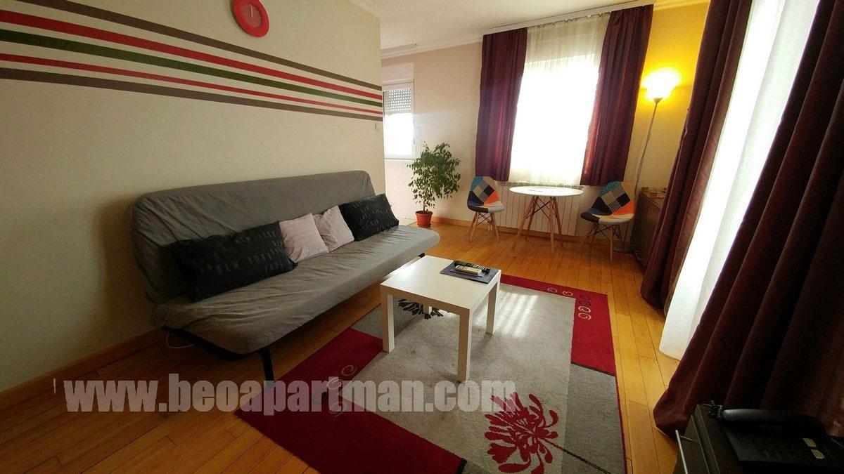 DUSHAN apartment Belgrade, living room