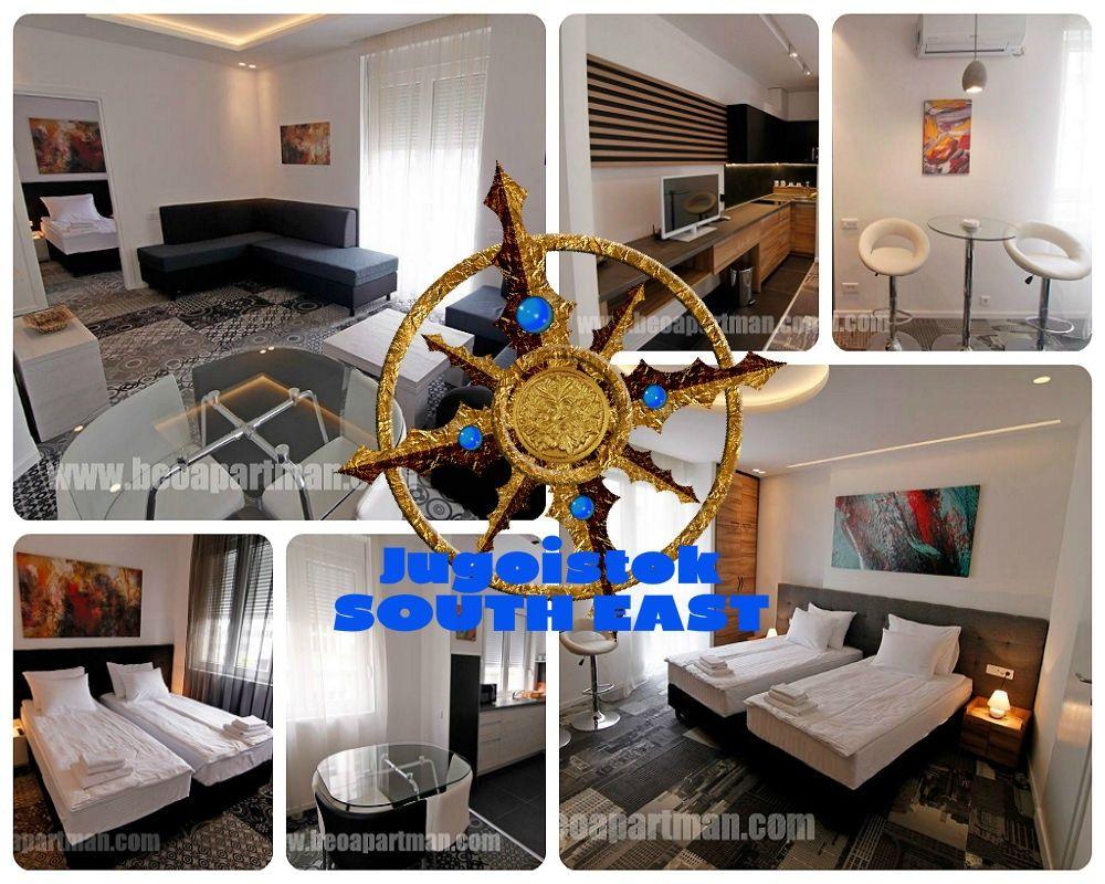 JUGOISTOK apartman Beograd,strogi centar