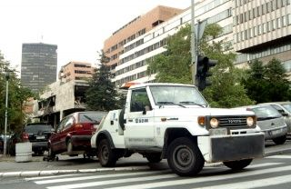 Belgrade parking service towing like mad