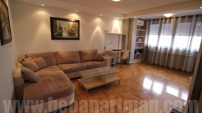SKY apartment Belgrade, living room