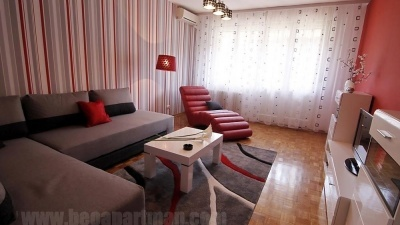 PARK apartment Belgrade. living room