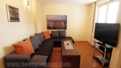 Living room duplex apartment in Belgrade CATHERINE
