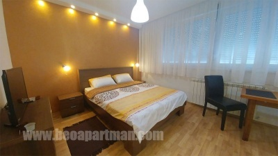 bedroom BAR apartment New Belgrade