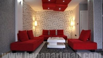 CRVENI apartman Novi Beograd, dnevna soba