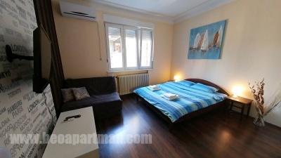 PARLAMENT apartman Beograd, dnevni boravak